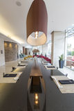 Interior of luxury five stars hotel in Bogota, Colombia Royalty Free Stock Photos