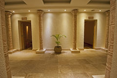 Interior of a luxury health spa Stock Photo