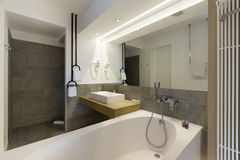 Interior of a luxury hotel bathroom Royalty Free Stock Image