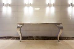 Interior of a luxury hotel hallway Stock Photos