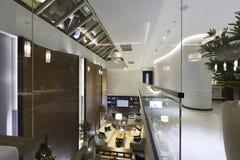 Interior of a luxury hotel lobby Stock Photos
