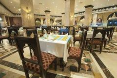 Interior of luxury hotel restaurant Stock Image