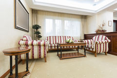 Interior of a luxury living room Royalty Free Stock Image