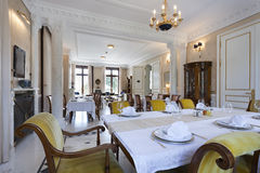 Interior of a luxury restaurant Royalty Free Stock Image