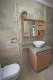 Interior of a luxury show home bathroom Royalty Free Stock Photography