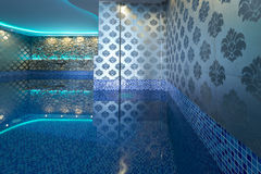 Interior of a luxury spa center Stock Photography