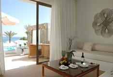 Interior of the luxury villa Royalty Free Stock Image