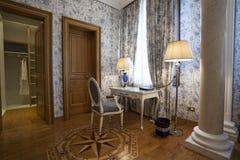 Interior of a luxury villa.  stock photo