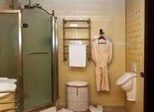 Interior of luxury vintage bathroom Royalty Free Stock Images