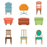 Interior, Luxury and Wood Chairs Stock Photos