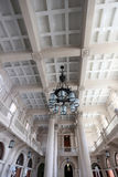 Interior of luz station in sao paulo, brazil Royalty Free Stock Photo