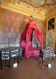 Interior magnífico del palacio de Stupinigi Imagen de archivo libre de regalías