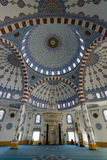 The interior of the main mosque in the village of Konakli. Stock Photos