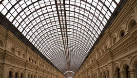 Interior of the Main Universal Store (GUM)-Moscow, Russia Stock Photos