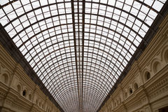 Interior of the Main Universal Store (GUM) on the Red Square in Moscow, Russia Royalty Free Stock Image