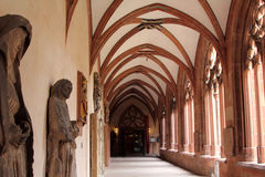 Interior of Mainz Cathedral Royalty Free Stock Images