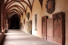 Interior of Mainz Cathedral Royalty Free Stock Photography