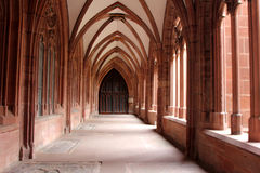 Interior of Mainz Cathedral Royalty Free Stock Photos
