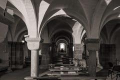 Interior majestuoso de la Abadía-iglesia de San Pedro y de Saint Paul Fotos de archivo