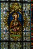 Interior majestuoso de la Abadía-iglesia de San Pedro y de Saint Paul Fotografía de archivo libre de regalías