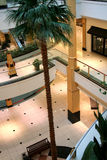 Interior of mall stock images