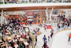 Interior Mall Royalty Free Stock Photography