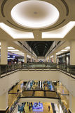 Interior of the Mall of the Emirates in Dubai Stock Photos