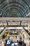 Interior of the Mall of the Emirates in Dubai Stock Photography