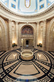 Interior of Manitoba Legislative Building in Winnipeg Stock Image