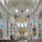 Interior of Mannheim Jesuit Church, Germany Royalty Free Stock Photo