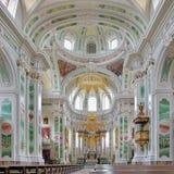 Interior of Mannheim Jesuit Church, Germany Royalty Free Stock Photo