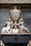 Interior of the Mantua Cathedral dedicated to Saint Peter, Mantua, Italy.  Royalty Free Stock Image