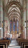 Interior of Marienkapelle in Wurzburg, Germany Stock Photography