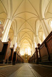 Interior of the Marienkirche in Berlin, Germany Royalty Free Stock Photos