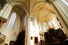 Interior of the Marienkirche in Berlin, Germany Stock Photo