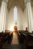Interior of the Marienkirche in Berlin, Germany Royalty Free Stock Photography