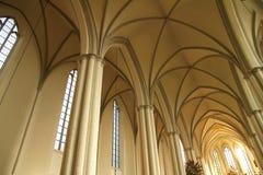 Interior of the Marienkirche in Berlin, Germany Stock Photos