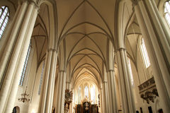 Interior of the Marienkirche in Berlin, Germany Stock Photography