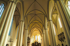 Interior of the Marienkirche in Berlin, Germany Royalty Free Stock Photo