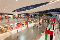 Interior of the Marina Mall in Abu Dhabi Stock Photo