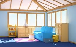 Interior marinho da casa Imagens de Stock