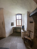 Interior of the Marksburg castle Royalty Free Stock Images