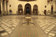 Interior of Marrakech museum, Morocco Stock Image