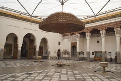 Interior of Marrakech museum, Morocco  Stock Images