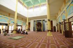 Interior of Masjid Jubli Perak Sultan Ismail Petra a.k.a. Masjid Beijing Stock Photos