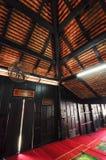 Interior of Masjid Kampung Laut at Nilam Puri Kelantan, Malaysia Stock Photo