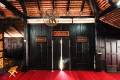 Interior Masjid Kampung Laut at Nilam Puri Kelantan, Malaysia Stock Image