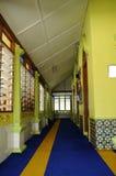 Interior of Masjid Kariah Dato' Undang Kamat, Johol, Negeri Sembilan Stock Images