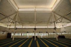 Interior of Masjid Tanjung Api at Kuantan, Malaysia Stock Image