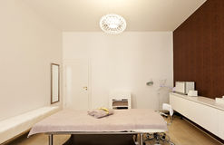 Interior of massage room Stock Images